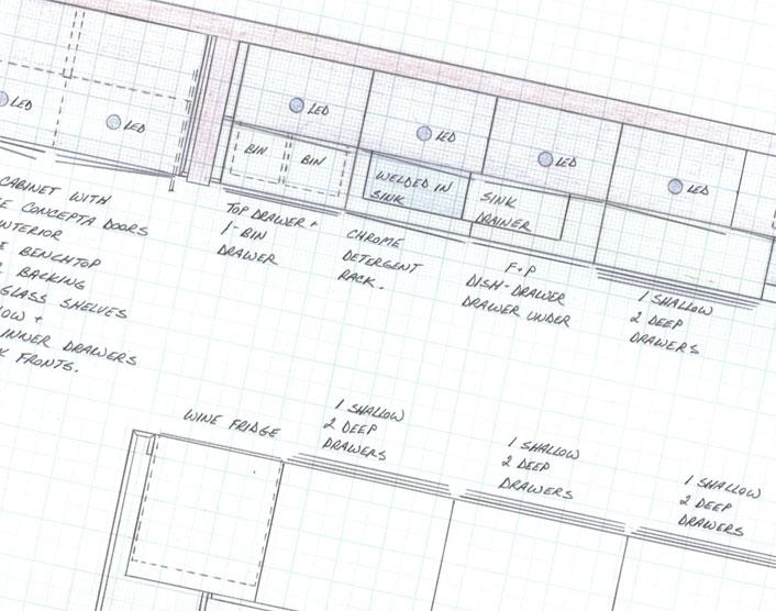 kitchen plan detail