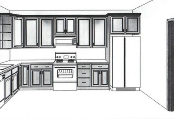 Basic kitchen sketch