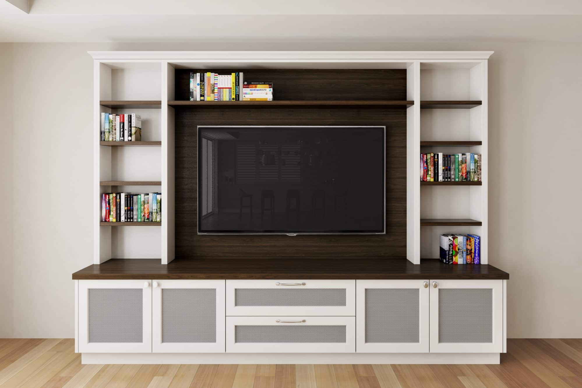 Artist's impression of the TV unit
