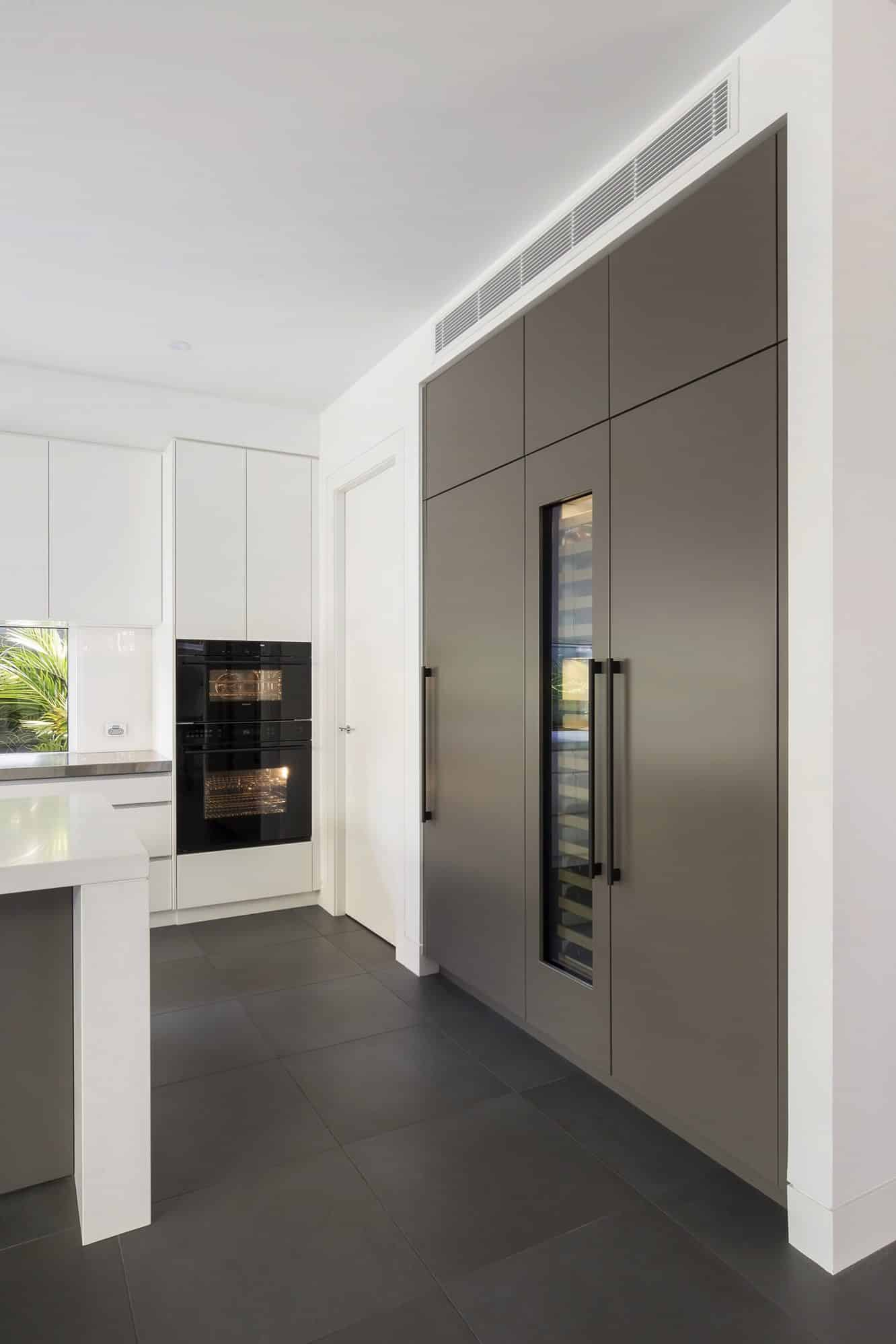 Integrated Sub-Zero Fridge, Wine storage and Freezer