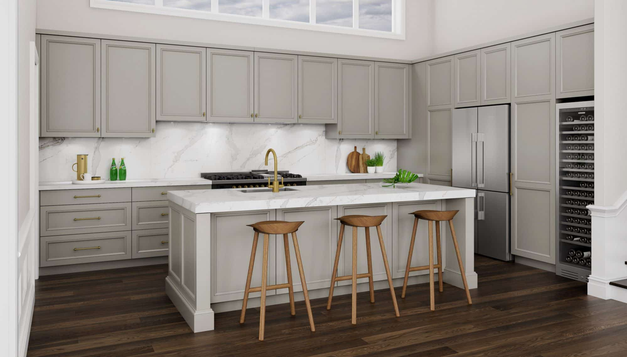 3D Illustration of the Northmead Kitchen Project
