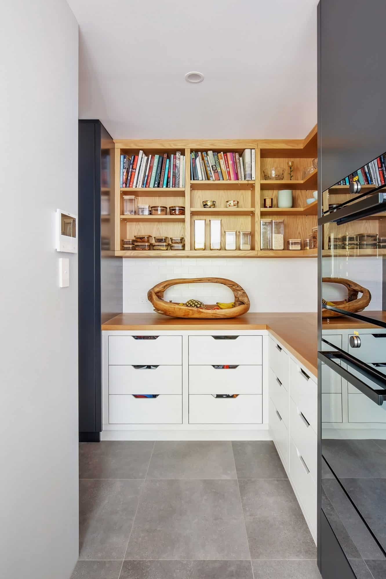 Kitchen Mosman Pantry | Dan Kitchens