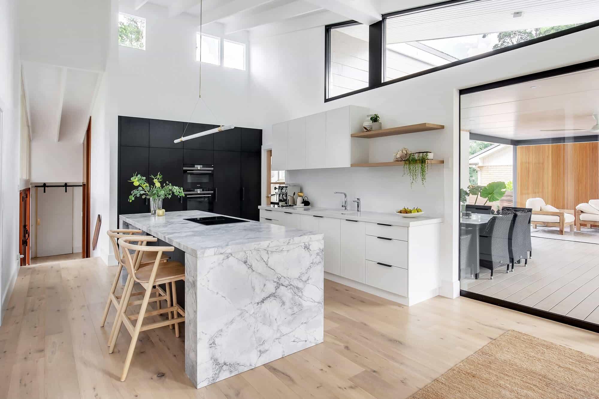 Contemporary Kitchen Cherrybrook