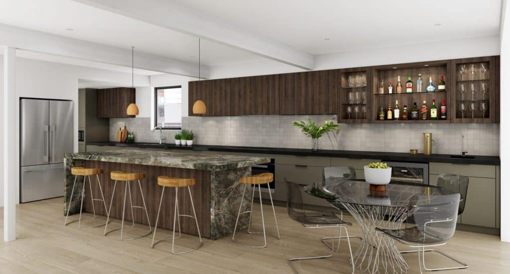 Timber Kitchen | Winston Hills